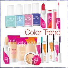 Мій блог - Avon Україна. Color Trend - оновлення від Avon