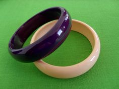 Vintage Bangle Bracelets Item 958 by LaylaBaylaJewelry on Etsy