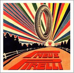 Pneus Pirelli Ads [Pirelli Vintage Ads] by Pirelli Tire North America