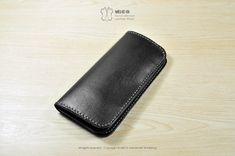 MICO Hand-stitched minimalist long wallet