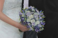 Detail of Oil Painting of Wedding Bouquet of Flowers by Gary Armer