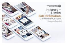 Sale Promotion Instagram Story by brandbuilt on @creativemarket