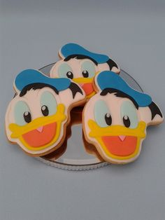 """Donald Duck"" cookies 