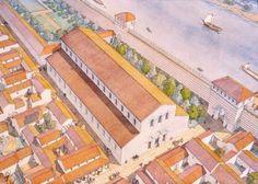 Historical Architecture, Ancient Architecture, Chariot Racing, St Emilion, Roman City, Roman History, Environment Design, Dark Ages, Ancient Romans