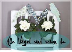 DIY Papier-Vogel-Stecker
