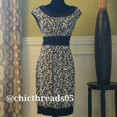 Sears AA Studio Black & White Dress Cute Black & White Dress New Without Tag. Dresses
