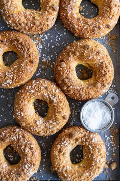 Paris Brest with Brown Butter Streusel, Custard Mousseline Cream and Spiced Apples — Cloudy Kitchen Breakfast For A Crowd, Breakfast Recipes, Delicious Desserts, Dessert Recipes, Paris Brest, Custard Powder, Vanilla Paste, French Patisserie, Apple Filling