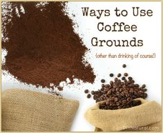 Uses for coffee grounds? Yes! For many, coffee is an essential part of every day life, but did you know there are other uses for coffee besides just drinking it?