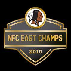 washington redskins 2015 nfc east champs | Redskins NFC East Champs Graphic | Hog Blogs