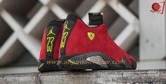 ru & www. Nike Basketball, Ferrari Rouge, Air Jordan 14, Black Sneakers, Sneakers Nike, Baskets, Shoes 2015, Cheap Shoes Online, Retro