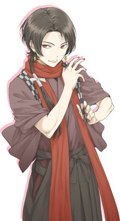 Mutsunokami Yoshiyuki, Anime Kimono, Anime Art Fantasy, Cute Anime Guys, Looking For People, Manga Comics, Touken Ranbu, Tokyo Ghoul, Me Me Me Anime