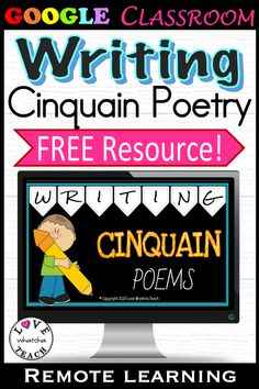 Cinquain Poems, Types Of Poems, Gifted Students, Math Groups, Best Poems, Differentiated Instruction, Syllable, Writing Poetry, Student Gifts