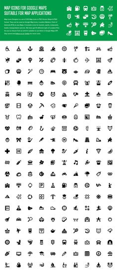 Free Map Icons