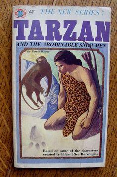 Tarzan and the Abominable Snowmen  1965  Part of the by wonderdiva, $25.00