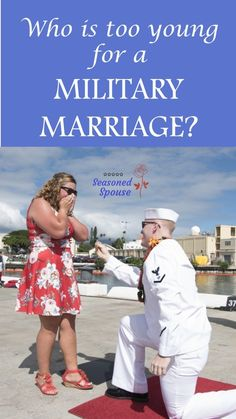Should you marry young in the military? Here are 7…