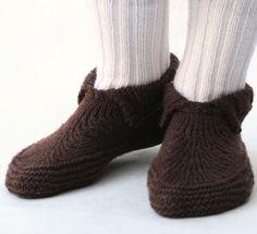 Knitting pattern for Adult Moc-a-Soc - #ad Slipper socks knitting pattern in sizes Sizes:XS, S, M, L, XL, XXL tba