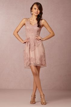 Wedding Day Pretties with BHLDN. Short Lace Bridesmaid DressesLace ... d0dd8480ab31