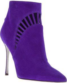 Purple stiletto  #AnkleBoots
