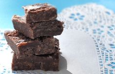 Healthy fudge!  Yes, I said healthy...especially if you use honey as the sweetener!  Yahoo!
