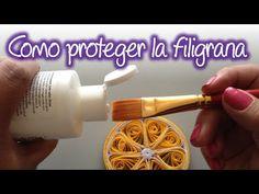 Como proteger tus trabajos de filigrana , How to protect your quilling w...