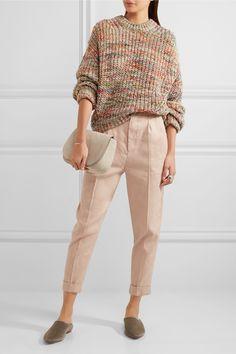 Isabel Marant   Neyo linen-blend tapered pants   NET-A-PORTER.COM