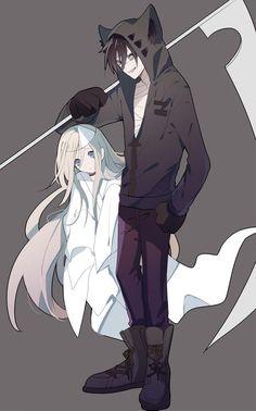 puras imágenes de satsuriku no tenshi (殺戮の天使) y sus personajes # De Todo # amreading # books # wattpad Manga Anime, Me Anime, Anime Love, Anime Art, Anime Angel, Angel Of Death, Couple Manga, Manga Dragon, Satsuriku No Tenshi