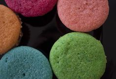 Renkli Muffinler #gokkusagimuffin #muffin #renk #gokkusagi #rainbowmuffin #renklimuffin