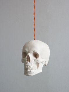 Skull Pendant Light