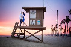 creative engagement photo in Orange County, California, by Jason Q. Tran Photography | junebugweddings.com