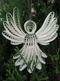 paper quilling angels -