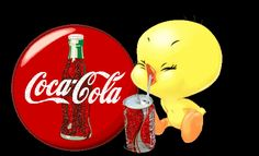 Coca Cola, Tweety Bird Quotes, Merrie Melodies, Classic Cartoon Characters, Cute Disney Wallpaper, Bird Pictures, Peanuts Snoopy, Cartoon Pics, Disney Drawings