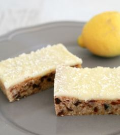 Good old fashioned Lemon Date slice for modern Thermomix fans! from @bakeplaysmile