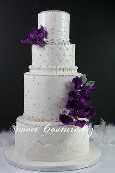 Gateau mariage Andrée-Hélène & Bernard wedding cake