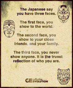3 caras de la vida