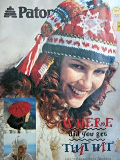 Hat Knitting Patterns Where Did You Get That Hat! Beehive Patons 577 Crochet Patterns Vintage Paper Original NOT a PDF by elanknits on Etsy