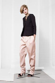 Rosa candy y negro #moda #estilo