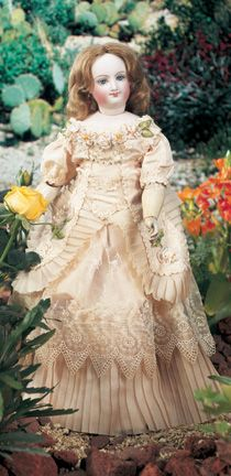 For the Love of Dolls, The Mildred Seeley Collection: 32 French Bisque Smiling Poupee by Bru