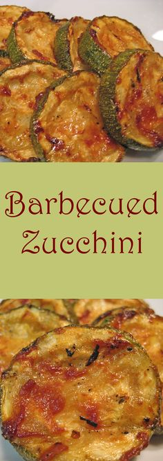 Slice thickly, grill, and top with an easy barbecue sauce - Summer Zucchini!