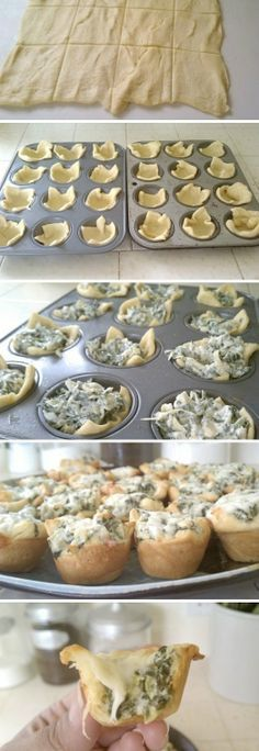 Spinach Artichoke Bites Recipe