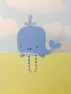 You will receive one whale clip attached to a paper clip. Erin Condren Life Planner, Blog Planner, 2015 Planner, Planner Ideas, 6th Grade School Supplies, E Craft, Book Markers, Day Planners, Paper Clip