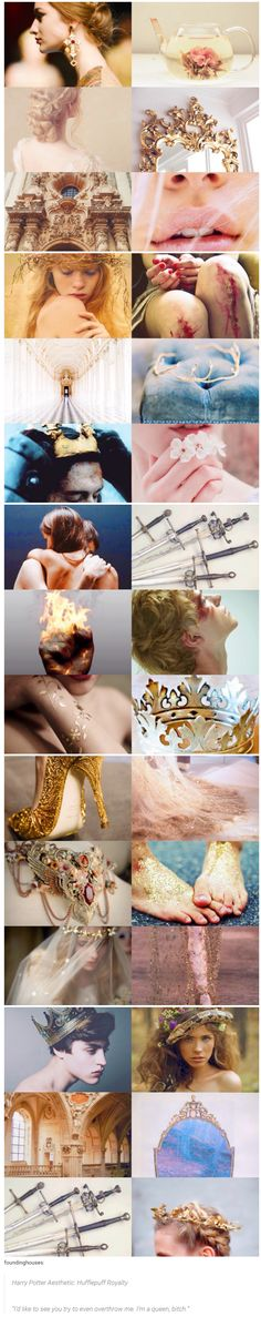 """foundinghouses: Harry Potter Aesthetic: Hufflepuff Royalty 