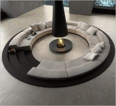 How About A Sunken Living Room?