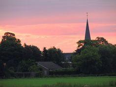 kerk in licht