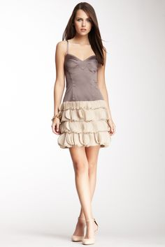 Maybe when I lose 50 pounds.. Black Halo Primal Corset Ruffle Dress <3