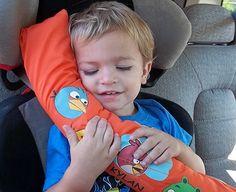 Angry Bird Seatbelt Pillow