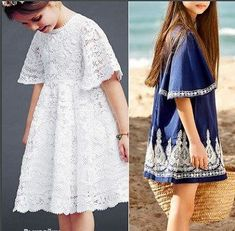 Galina_O - galkaorlo Baby Patterns, Dress Patterns, Sewing Patterns, Fashion Kids, Pretty Baby, Kind Mode, Ideias Fashion, Kids Outfits, Party Dress