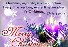 quotes about teaching children to give at Christmas time | ... every time we love every time we give its christmas merry christmas