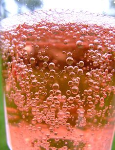 Rose champagne - infinite bubbles by Gaetan Lee, via Flickr