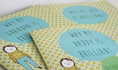 http://www.notonthehighstreet.com/loubrowndesigns/product/personalised-why-my-daddy-is-brilliant-book