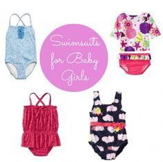 10 Adorable Swimsuits for Baby Girl